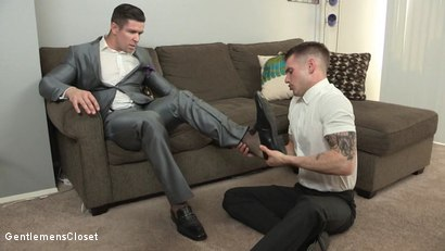 Photo number 1 from Walk In Closet shot for Gentlemens Closet on Kink.com. Featuring Trenton Ducati and Chris Harder in hardcore BDSM & Fetish porn.