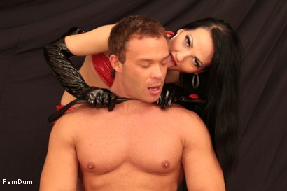 Photo number 1 from Dominatrix From The Whorehouse shot for FemDum on Kink.com. Featuring Nina and Peter Stallion in hardcore BDSM & Fetish porn.