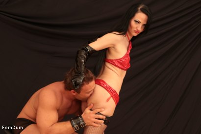 Photo number 2 from Dominatrix From The Whorehouse shot for FemDum on Kink.com. Featuring Nina and Peter Stallion in hardcore BDSM & Fetish porn.