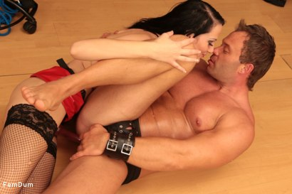 Photo number 20 from Dominatrix From The Whorehouse shot for FemDum on Kink.com. Featuring Nina and Peter Stallion in hardcore BDSM & Fetish porn.