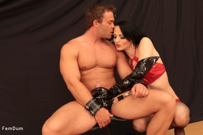 Photo number 4 from Dominatrix From The Whorehouse shot for FemDum on Kink.com. Featuring Nina and Peter Stallion in hardcore BDSM & Fetish porn.