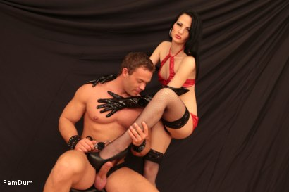 Photo number 9 from Dominatrix From The Whorehouse shot for FemDum on Kink.com. Featuring Nina and Peter Stallion in hardcore BDSM & Fetish porn.