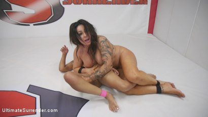 Photo number 9 from Latina MILF Simone Garza vs Young Orgasmic Jenna Foxx shot for Ultimate Surrender on Kink.com. Featuring Jenna Foxx and Simone Garza in hardcore BDSM & Fetish porn.