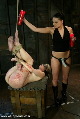 Photo number 9 from Nikki Nievez and Fayth Deluca shot for Whipped Ass on Kink.com. Featuring Nikki Nievez and Fayth Deluca in hardcore BDSM & Fetish porn.