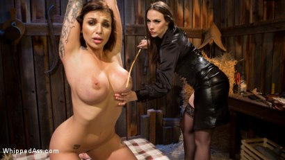 Photo number 8 from Busty Thief Captured and Tased to Orgasm! shot for Whipped Ass on Kink.com. Featuring Chanel Preston and Ivy LeBelle in hardcore BDSM & Fetish porn.
