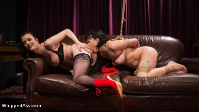 Photo number 8 from Olive Glass Puts Up Every Hole For Whipped Ass shot for Whipped Ass on Kink.com. Featuring Cherry Torn and Olive Glass in hardcore BDSM & Fetish porn.