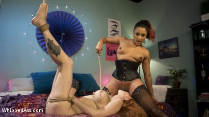 Photo number 3 from Horny roommate anally dominates redhead slut shot for Whipped Ass on Kink.com. Featuring Daisy Ducati and Lauren Phillips in hardcore BDSM & Fetish porn.