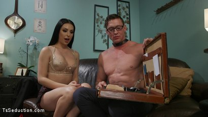 Photo number 16 from Chanel Santini Fucks Her Sex Therapist shot for TS Seduction on Kink.com. Featuring Chanel Santini and Pierce Paris in hardcore BDSM & Fetish porn.