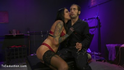 Photo number 15 from Chelsea Marie pounds pervert panty boy slut shot for TS Seduction on Kink.com. Featuring DJ and Chelsea Marie in hardcore BDSM & Fetish porn.