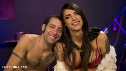 Photo number 17 from Chelsea Marie pounds pervert panty boy slut shot for TS Seduction on Kink.com. Featuring DJ and Chelsea Marie in hardcore BDSM & Fetish porn.