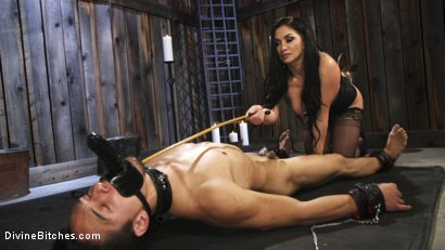 Photo number 2 from Fresh Meat: Lea Lexis takes new sub for a test drive! shot for Divine Bitches on Kink.com. Featuring Lea Lexis and Adrian Marx in hardcore BDSM & Fetish porn.