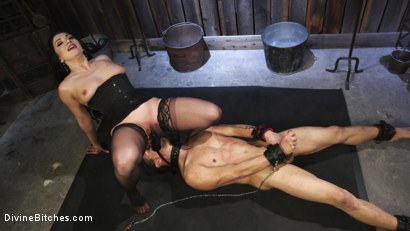Photo number 11 from Fresh Meat: Lea Lexis takes new sub for a test drive! shot for Divine Bitches on Kink.com. Featuring Lea Lexis and Adrian Marx in hardcore BDSM & Fetish porn.