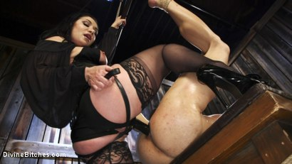 Photo number 12 from Fresh Meat: Lea Lexis takes new sub for a test drive! shot for Divine Bitches on Kink.com. Featuring Lea Lexis and Adrian Marx in hardcore BDSM & Fetish porn.