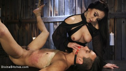 Photo number 14 from Fresh Meat: Lea Lexis takes new sub for a test drive! shot for Divine Bitches on Kink.com. Featuring Lea Lexis and Adrian Marx in hardcore BDSM & Fetish porn.