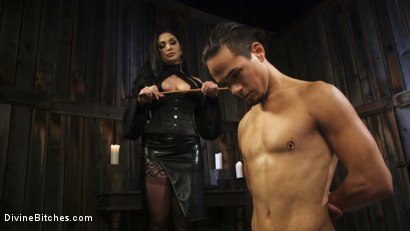 Photo number 16 from Fresh Meat: Lea Lexis takes new sub for a test drive! shot for Divine Bitches on Kink.com. Featuring Lea Lexis and Adrian Marx in hardcore BDSM & Fetish porn.