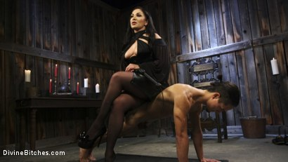Photo number 6 from Fresh Meat: Lea Lexis takes new sub for a test drive! shot for Divine Bitches on Kink.com. Featuring Lea Lexis and Adrian Marx in hardcore BDSM & Fetish porn.