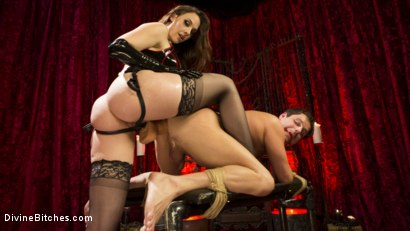 Photo number 10 from Chanel Preston Brutally Schools Internet Troll shot for Divine Bitches on Kink.com. Featuring Marcelo and Chanel Preston in hardcore BDSM & Fetish porn.