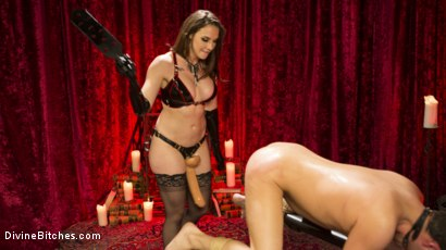 Photo number 12 from Chanel Preston Brutally Schools Internet Troll shot for Divine Bitches on Kink.com. Featuring Marcelo and Chanel Preston in hardcore BDSM & Fetish porn.