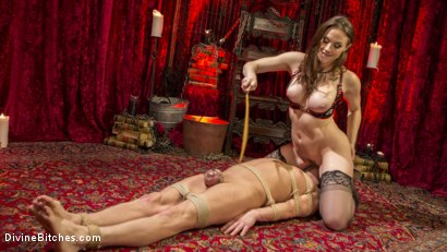 Photo number 14 from Chanel Preston Brutally Schools Internet Troll shot for Divine Bitches on Kink.com. Featuring Marcelo and Chanel Preston in hardcore BDSM & Fetish porn.