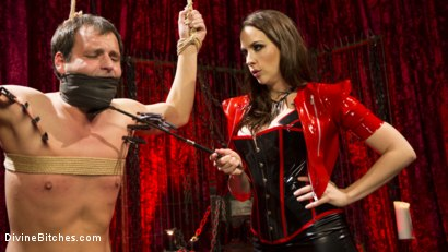 Photo number 4 from Chanel Preston Brutally Schools Internet Troll shot for Divine Bitches on Kink.com. Featuring Marcelo and Chanel Preston in hardcore BDSM & Fetish porn.