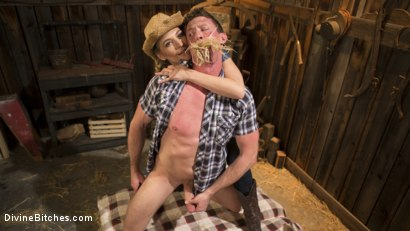 Photo number 10 from Rancher Mona Wales Breeds New Beefcake Pierce Paris shot for Divine Bitches on Kink.com. Featuring Mona Wales and Pierce Paris in hardcore BDSM & Fetish porn.