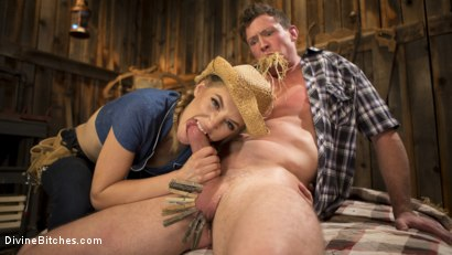 Rancher Mona Wales Breeds New Beefcake Pierce Paris