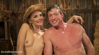Photo number 16 from Rancher Mona Wales Breeds New Beefcake Pierce Paris shot for Divine Bitches on Kink.com. Featuring Mona Wales and Pierce Paris in hardcore BDSM & Fetish porn.