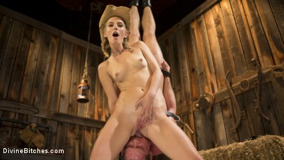 Photo number 4 from Rancher Mona Wales Breeds New Beefcake Pierce Paris shot for Divine Bitches on Kink.com. Featuring Mona Wales and Pierce Paris in hardcore BDSM & Fetish porn.