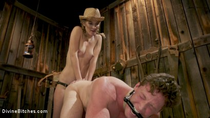 Photo number 6 from Rancher Mona Wales Breeds New Beefcake Pierce Paris shot for Divine Bitches on Kink.com. Featuring Mona Wales and Pierce Paris in hardcore BDSM & Fetish porn.