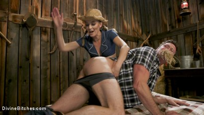 Photo number 8 from Rancher Mona Wales Breeds New Beefcake Pierce Paris shot for Divine Bitches on Kink.com. Featuring Mona Wales and Pierce Paris in hardcore BDSM & Fetish porn.
