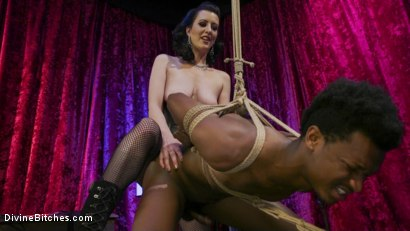 Photo number 10 from Cherry Torn Trains New Slut Luis Long shot for Divine Bitches on Kink.com. Featuring Cherry Torn and Luis Long in hardcore BDSM & Fetish porn.