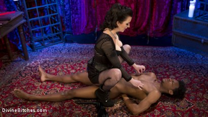 Photo number 13 from Cherry Torn Trains New Slut Luis Long shot for Divine Bitches on Kink.com. Featuring Cherry Torn and Luis Long in hardcore BDSM & Fetish porn.