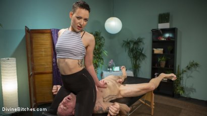 Photo number 5 from Lilith Luxe Pounds The Stress Out Of Her Whiny Little Client D Arclyte shot for Divine Bitches on Kink.com. Featuring Lilith Luxe and D. Arclyte in hardcore BDSM & Fetish porn.