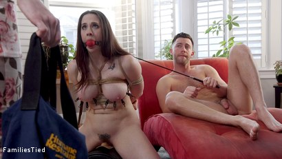 Photo number 17 from Step-Mother Chanel Preston Fucks Son & His Cheap Whore Girlfriend! shot for  on Kink.com. Featuring Chanel Preston, Seth Gamble and Penny Pax in hardcore BDSM & Fetish porn.