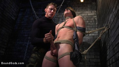 Photo number 10 from Rich Boy Jack Hunter Gets Punished & Fucked for his Father's Debts! shot for Bound Gods on Kink.com. Featuring Pierce Paris and Jack Hunter in hardcore BDSM & Fetish porn.