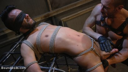 Photo number 12 from Myles Landon Punishes Chance Summerlin With Huge, Thick Cock shot for Bound Gods on Kink.com. Featuring Myles Landon and Chance Summerlin in hardcore BDSM & Fetish porn.