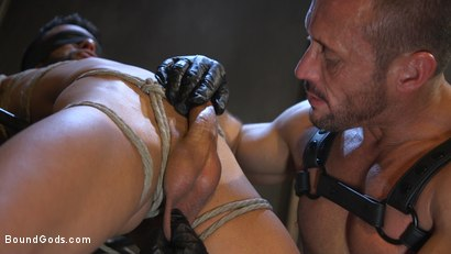 Photo number 13 from Myles Landon Punishes Chance Summerlin With Huge, Thick Cock shot for Bound Gods on Kink.com. Featuring Myles Landon and Chance Summerlin in hardcore BDSM & Fetish porn.