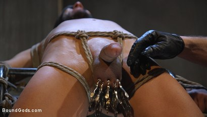 Photo number 14 from Myles Landon Punishes Chance Summerlin With Huge, Thick Cock shot for Bound Gods on Kink.com. Featuring Myles Landon and Chance Summerlin in hardcore BDSM & Fetish porn.