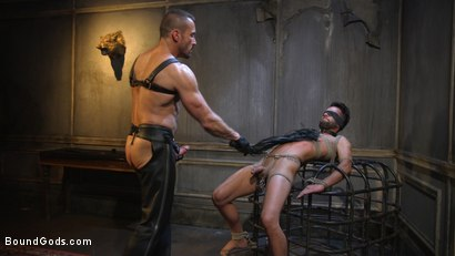 Photo number 16 from Myles Landon Punishes Chance Summerlin With Huge, Thick Cock shot for Bound Gods on Kink.com. Featuring Myles Landon and Chance Summerlin in hardcore BDSM & Fetish porn.