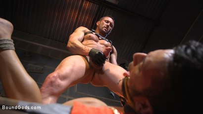 Photo number 24 from Myles Landon Punishes Chance Summerlin With Huge, Thick Cock shot for Bound Gods on Kink.com. Featuring Myles Landon and Chance Summerlin in hardcore BDSM & Fetish porn.