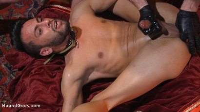 Photo number 26 from Myles Landon Punishes Chance Summerlin With Huge, Thick Cock shot for Bound Gods on Kink.com. Featuring Myles Landon and Chance Summerlin in hardcore BDSM & Fetish porn.