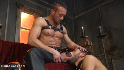 Photo number 7 from Myles Landon Punishes Chance Summerlin With Huge, Thick Cock shot for Bound Gods on Kink.com. Featuring Myles Landon and Chance Summerlin in hardcore BDSM & Fetish porn.