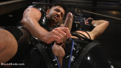 Photo number 1 from Matt Anthony Takes A Beating And A Fucking In Full Suspension shot for Bound Gods on Kink.com. Featuring Dominic Pacifico and Matt Anthony in hardcore BDSM & Fetish porn.