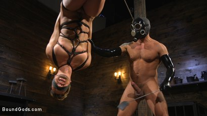 Photo number 13 from Matt Anthony Takes A Beating And A Fucking In Full Suspension shot for Bound Gods on Kink.com. Featuring Dominic Pacifico and Matt Anthony in hardcore BDSM & Fetish porn.
