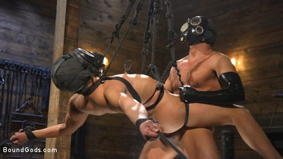 Matt Anthony Takes A Beating And A Fucking In Full Suspension