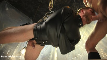 Photo number 12 from Scott Riley Pays His Debts With His Ass shot for Bound Gods on Kink.com. Featuring Myles Landon and Scott Riley in hardcore BDSM & Fetish porn.