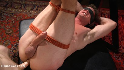 Photo number 3 from Sore Loser: Muscle stud Pierce Paris Gets Beat and Foot-Fucked shot for Bound Gods on Kink.com. Featuring Sebastian Keys and Pierce Paris in hardcore BDSM & Fetish porn.
