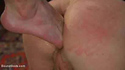 Photo number 4 from Sore Loser: Muscle stud Pierce Paris Gets Beat and Foot-Fucked shot for Bound Gods on Kink.com. Featuring Sebastian Keys and Pierce Paris in hardcore BDSM & Fetish porn.