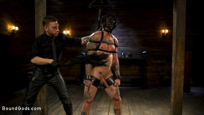 Photo number 10 from Endure The Pain: Straight Stud Dane Stewart Slave Training shot for Bound Gods on Kink.com. Featuring Sebastian Keys and Dane Stewart in hardcore BDSM & Fetish porn.
