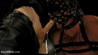 Photo number 14 from Endure The Pain: Straight Stud Dane Stewart Slave Training shot for Bound Gods on Kink.com. Featuring Sebastian Keys and Dane Stewart in hardcore BDSM & Fetish porn.